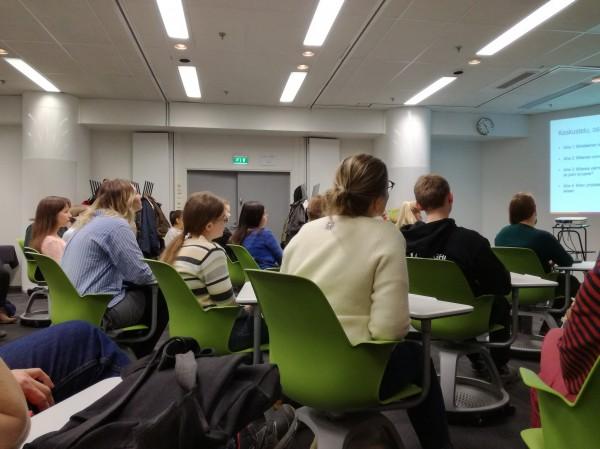 Yhteisöllisyyspäivä kokoaa yhteen opiskelijat ja henkilökunnan