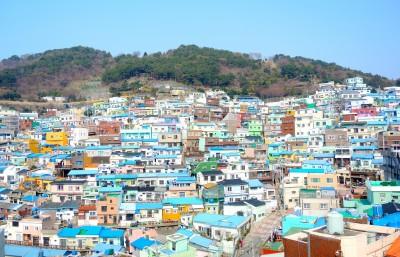 Gamcheonin kulttuurikylä (감천문화마을) on Korean sodan aikainen hökkelikylä, ja yksi Busanin tunnetuimmista turistikohteista.