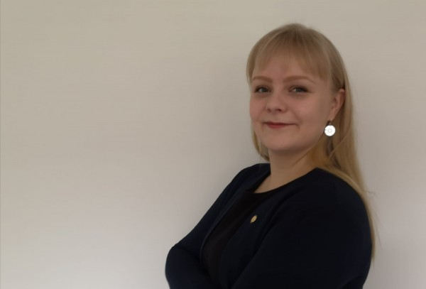 Nelli Mäkitalo on Kannassakin ansioitunut järjestöaktiivi, joka on aloittanut edustajiston puheenjohtajana vuoden alusta. Kuva: Nelli Mäkitalo