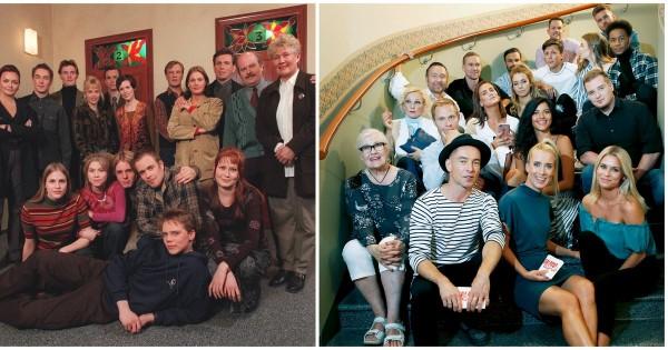 Sarjan ensimmäisen kauden näyttelijäkaartista sarjassa on tällä hetkellä mukana viisi. kuva: Fremantle Finland