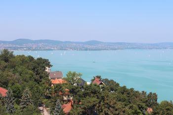 Kaunis Balaton-järvi