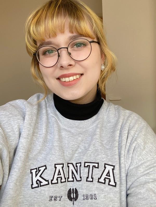 Kanta ry:n hallituksen puheenjohtaja Jenni Kitinprami.